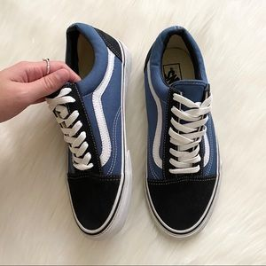vans - men's lace-up sneakers skate shoes low top